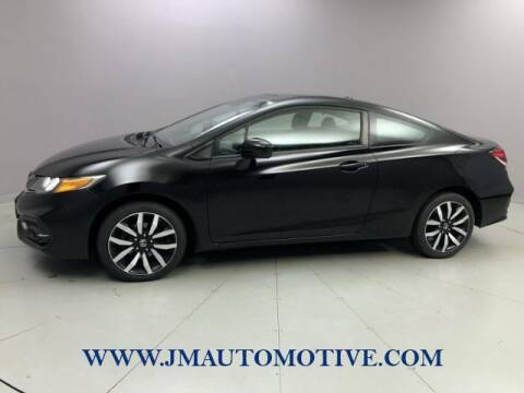 2015 Honda Civic for sale at J & M Automotive in Naugatuck CT