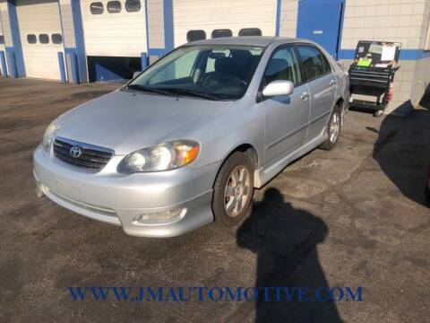 2008 Toyota Corolla for sale at J & M Automotive in Naugatuck CT
