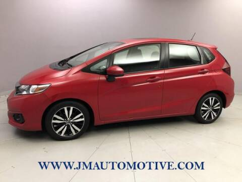 2018 Honda Fit for sale at J & M Automotive in Naugatuck CT
