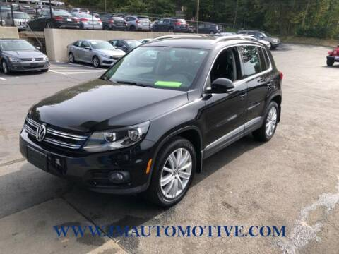 2013 Volkswagen Tiguan for sale at J & M Automotive in Naugatuck CT