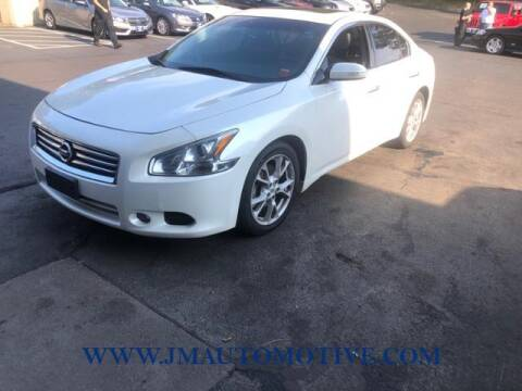2014 Nissan Maxima for sale at J & M Automotive in Naugatuck CT