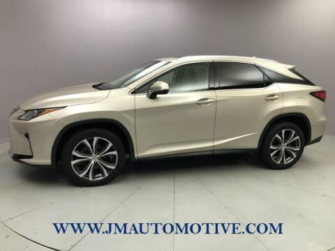 2017 Lexus RX 350 for sale at J & M Automotive in Naugatuck CT
