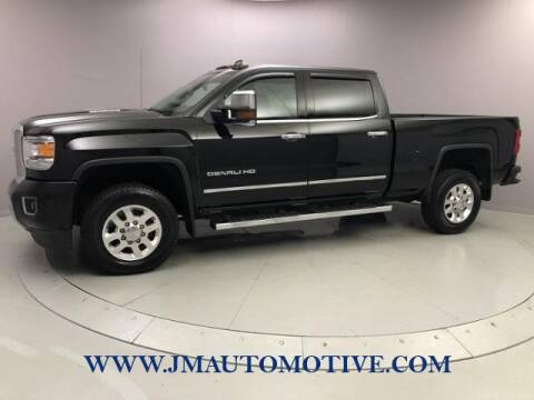 2015 GMC Sierra 3500HD for sale at J & M Automotive in Naugatuck CT
