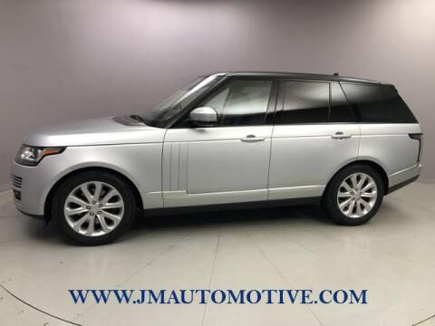 2016 Land Rover Range Rover for sale at J & M Automotive in Naugatuck CT