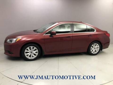 2017 Subaru Legacy for sale at J & M Automotive in Naugatuck CT