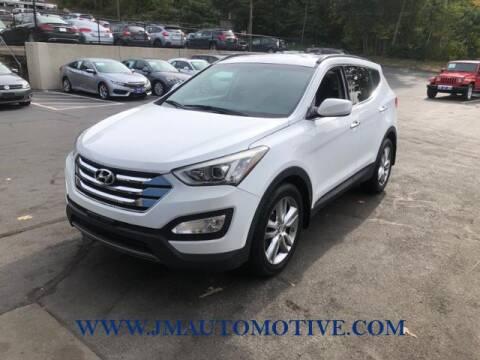 2013 Hyundai Santa Fe Sport for sale at J & M Automotive in Naugatuck CT