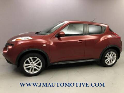 2012 Nissan JUKE for sale at J & M Automotive in Naugatuck CT