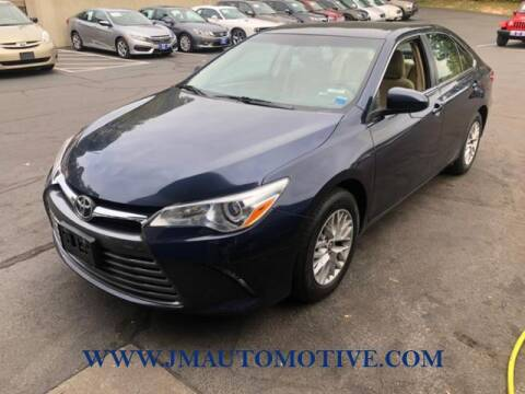 2016 Toyota Camry for sale at J & M Automotive in Naugatuck CT