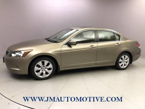 2008 Honda Accord for sale at J & M Automotive in Naugatuck CT