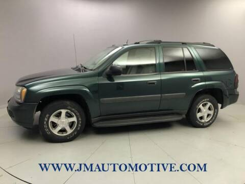 2005 Chevrolet TrailBlazer for sale at J & M Automotive in Naugatuck CT