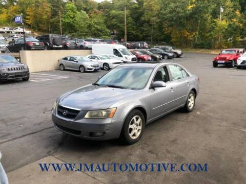 2006 Hyundai Sonata for sale at J & M Automotive in Naugatuck CT