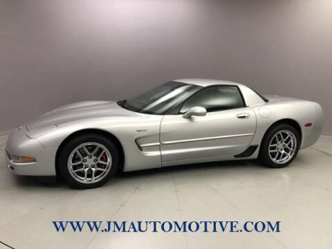 2003 Chevrolet Corvette for sale at J & M Automotive in Naugatuck CT