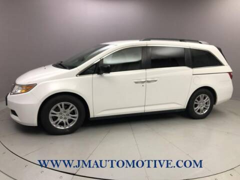2013 Honda Odyssey for sale at J & M Automotive in Naugatuck CT