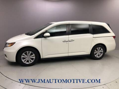 2016 Honda Odyssey for sale at J & M Automotive in Naugatuck CT