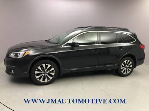 2015 Subaru Outback for sale at J & M Automotive in Naugatuck CT
