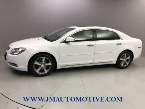 2012 Chevrolet Malibu for sale at J & M Automotive in Naugatuck CT