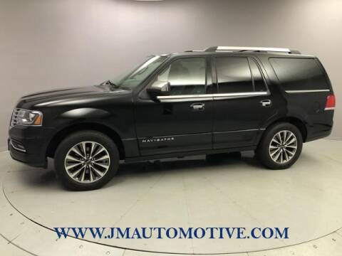 2017 Lincoln Navigator for sale at J & M Automotive in Naugatuck CT