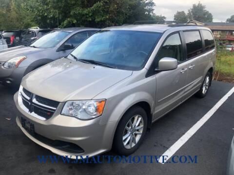 2014 Dodge Grand Caravan for sale at J & M Automotive in Naugatuck CT