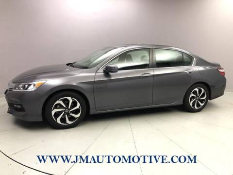 2017 Honda Accord for sale at J & M Automotive in Naugatuck CT