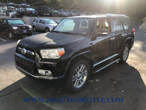 2010 Toyota 4Runner for sale at J & M Automotive in Naugatuck CT