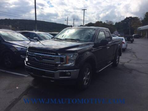 2018 Ford F-150 for sale at J & M Automotive in Naugatuck CT