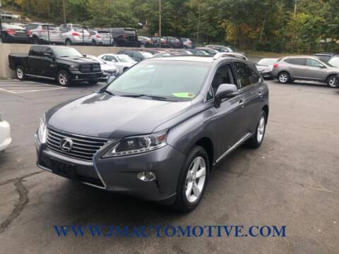 2013 Lexus RX 350 for sale at J & M Automotive in Naugatuck CT