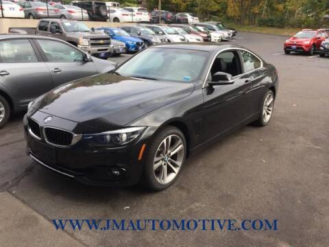 2018 BMW 4 Series for sale at J & M Automotive in Naugatuck CT