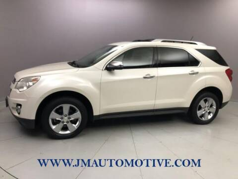 2013 Chevrolet Equinox for sale at J & M Automotive in Naugatuck CT