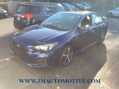 2017 Subaru Impreza for sale at J & M Automotive in Naugatuck CT