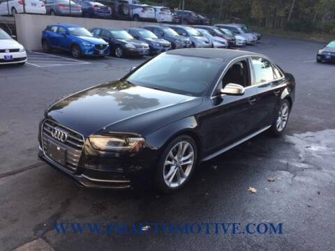 2014 Audi S4 for sale at J & M Automotive in Naugatuck CT