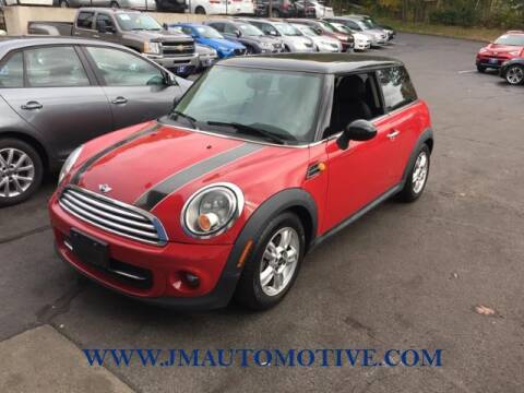 2013 MINI Hardtop for sale at J & M Automotive in Naugatuck CT