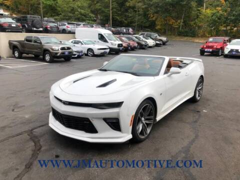 2017 Chevrolet Camaro for sale at J & M Automotive in Naugatuck CT