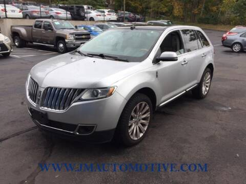 2014 Lincoln MKX for sale at J & M Automotive in Naugatuck CT