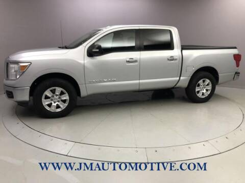 2018 Nissan Titan for sale at J & M Automotive in Naugatuck CT