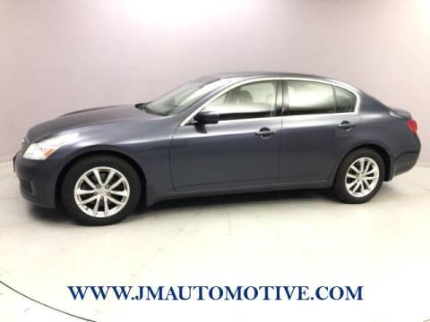 2009 Infiniti G37 Sedan for sale at J & M Automotive in Naugatuck CT
