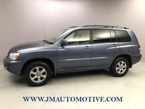 2005 Toyota Highlander for sale at J & M Automotive in Naugatuck CT