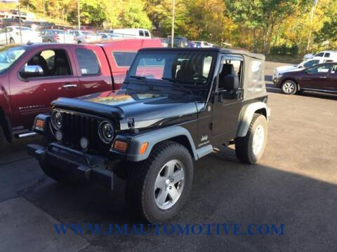2006 Jeep Wrangler for sale at J & M Automotive in Naugatuck CT