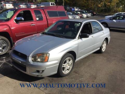 2005 Subaru Impreza for sale at J & M Automotive in Naugatuck CT