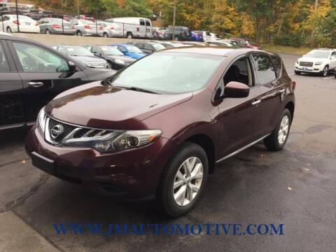 2014 Nissan Murano for sale at J & M Automotive in Naugatuck CT