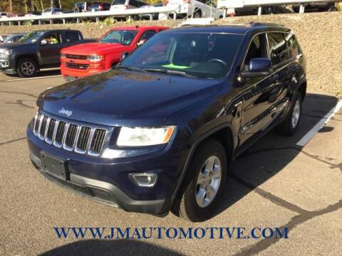 2014 Jeep Grand Cherokee for sale at J & M Automotive in Naugatuck CT