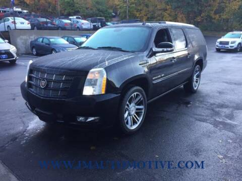 2013 Cadillac Escalade ESV for sale at J & M Automotive in Naugatuck CT