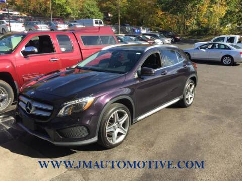 2015 Mercedes-Benz GLA for sale at J & M Automotive in Naugatuck CT