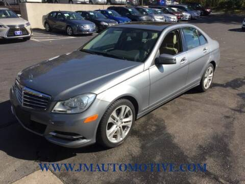 2012 Mercedes-Benz C-Class for sale at J & M Automotive in Naugatuck CT