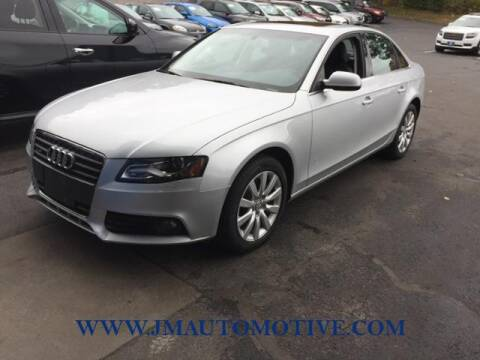 2012 Audi A4 for sale at J & M Automotive in Naugatuck CT