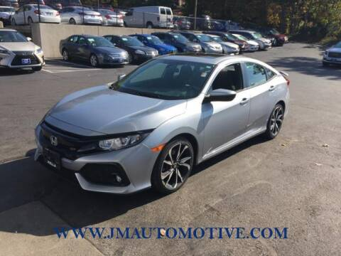 2017 Honda Civic for sale at J & M Automotive in Naugatuck CT