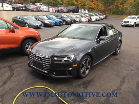 2018 Audi A4 for sale at J & M Automotive in Naugatuck CT