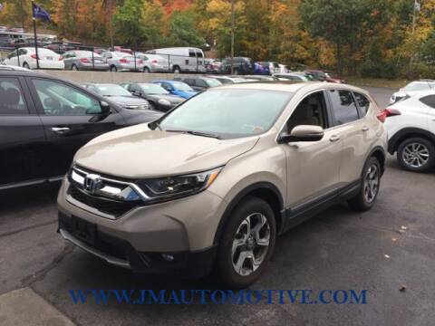 2017 Honda CR-V for sale at J & M Automotive in Naugatuck CT