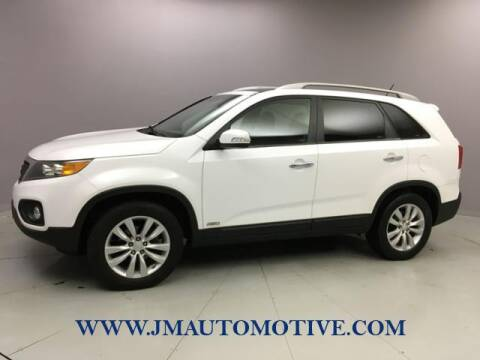 2011 Kia Sorento for sale at J & M Automotive in Naugatuck CT