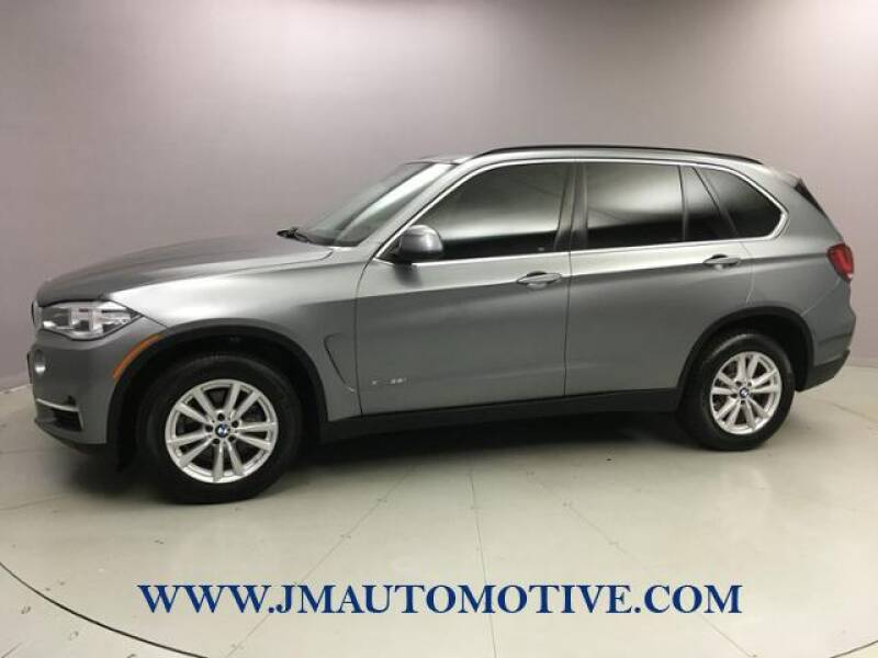 2014 BMW X5 for sale at J & M Automotive in Naugatuck CT