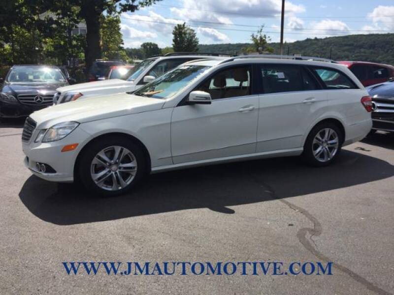 2011 Mercedes-Benz E-Class for sale at J & M Automotive in Naugatuck CT